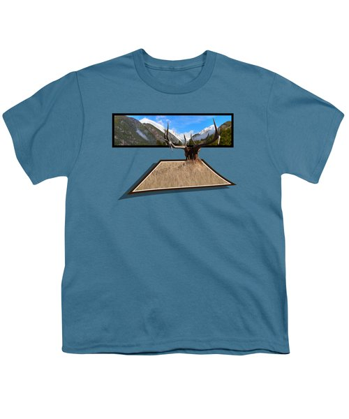 The View Youth T-Shirt by Shane Bechler