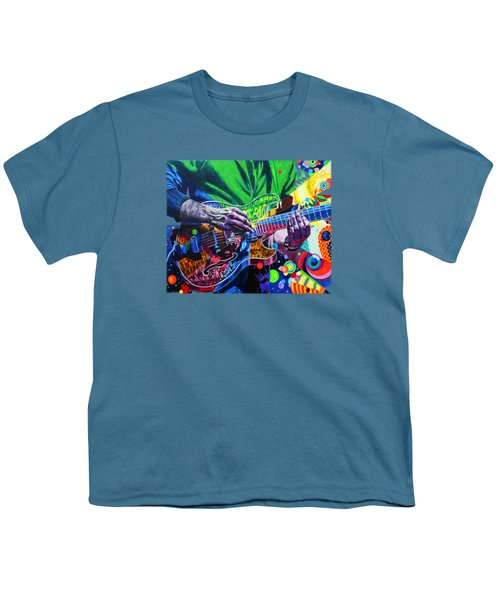 Trey Anastasio 4 Youth T-Shirt by Kevin J Cooper Artwork