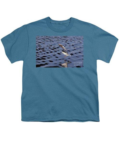 Water Alighting Youth T-Shirt by Michal Boubin