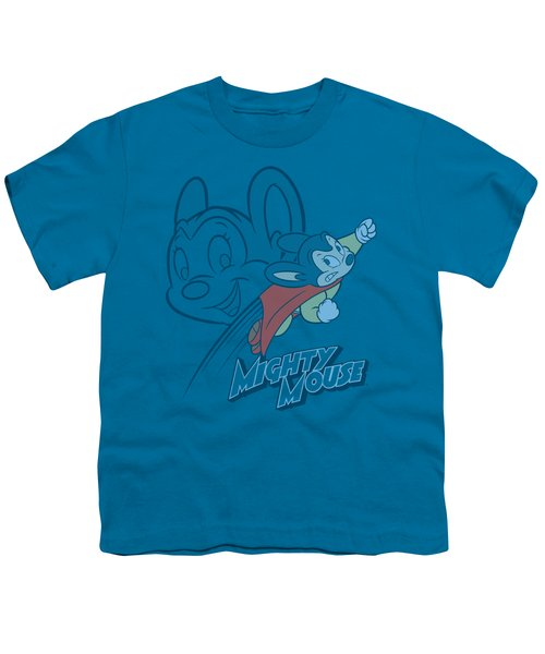 Mighty Mouse - Double Mouse Youth T-Shirt by Brand A