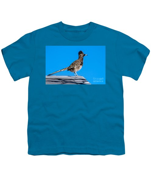 Roadrunner Youth T-Shirt by Robert Bales