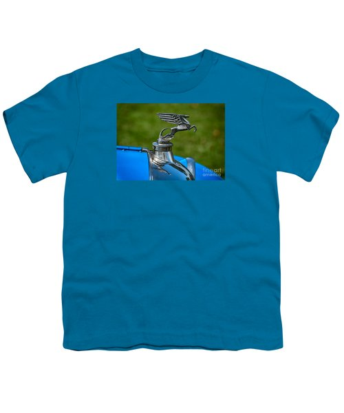 Amilcar Pegasus Emblem Youth T-Shirt by Adrian Evans