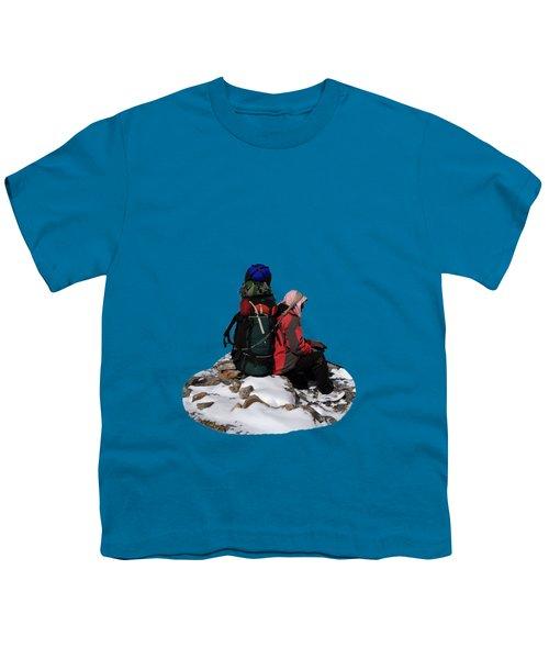 Himalayan Porter, Nepal Youth T-Shirt by Aidan Moran