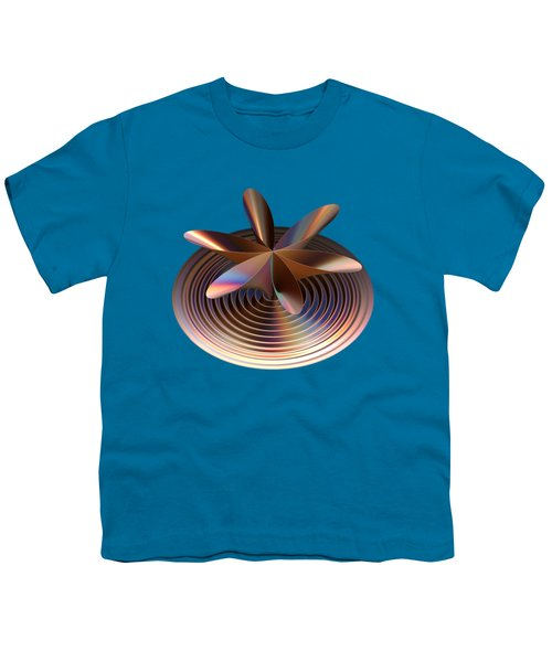 Copper Tones Youth T-Shirt by Linda Phelps