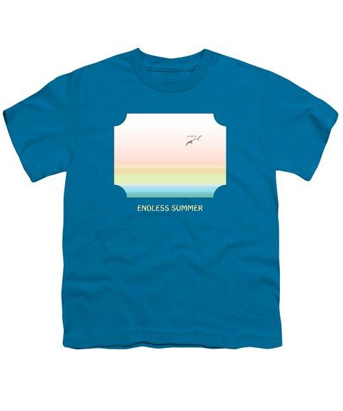 Endless Summer - Blue Youth T-Shirt by Gill Billington