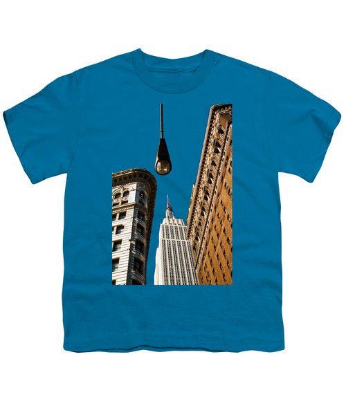 Flatiron District Youth T-Shirt by Paul Lamonica