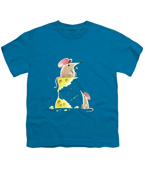 Living Dangerously  Youth T-Shirt by Andrew Hitchen
