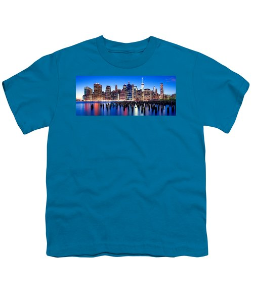 Magic Manhattan Youth T-Shirt by Az Jackson
