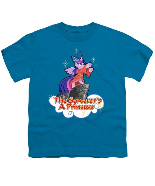 The Sorcerer's A Princess Youth T-Shirt by J L Meadows