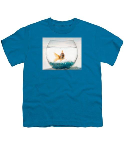 Tiger Fish Youth T-Shirt by Juli Scalzi