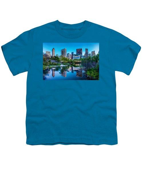 Urban Oasis Youth T-Shirt by Az Jackson