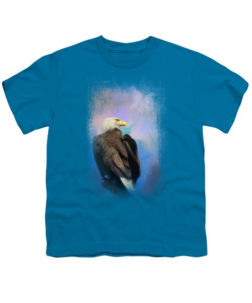 Watching Over The Heavens Youth T-Shirt by Jai Johnson