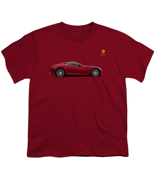 Ferrari 599 Gtb Youth T-Shirt by Douglas Pittman