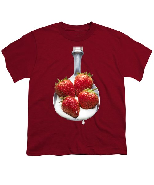 Good Enough To Eat Youth T-Shirt by Jon Delorme