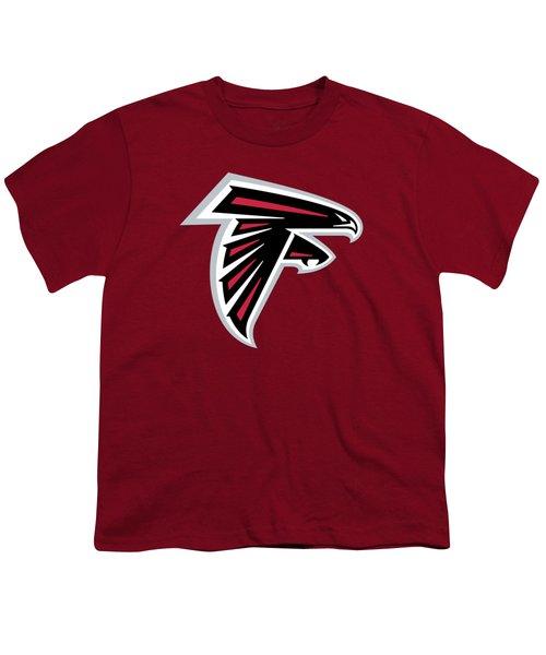Atlanta Falcons  Youth T-Shirt by Mitro Dente