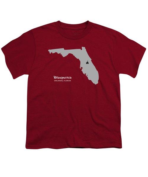 Disneyworld Youth T-Shirt by Nancy Ingersoll