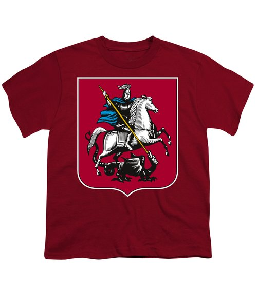 Moscow Coat Of Arms Youth T-Shirt by Frederick Holiday