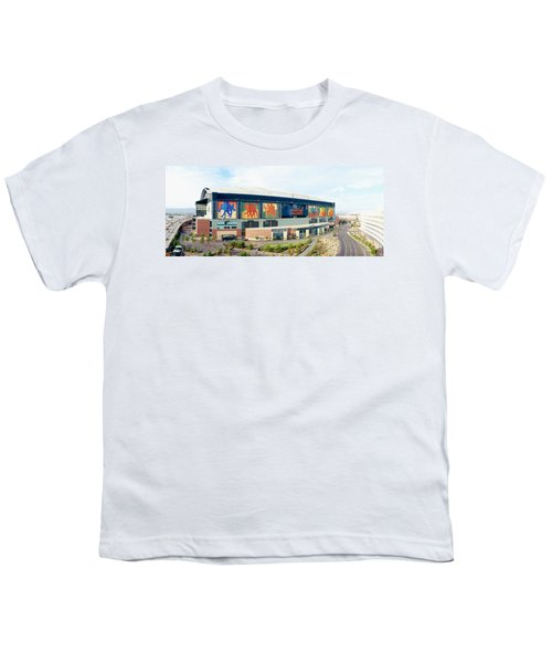 High Angle View Of A Baseball Stadium Youth T-Shirt by Panoramic Images