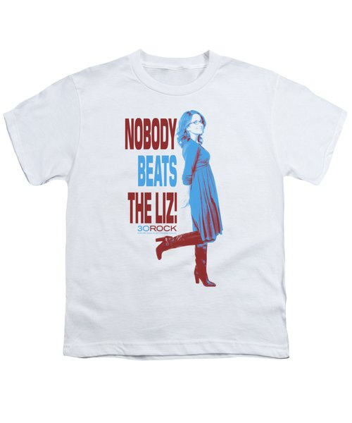 30 Rock - Nobody Beats The Liz Youth T-Shirt by Brand A