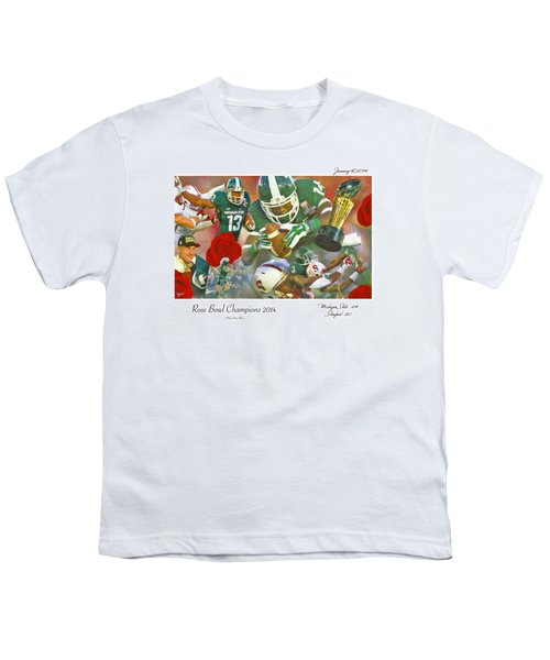 A Very Sweet Rose Youth T-Shirt by John Farr