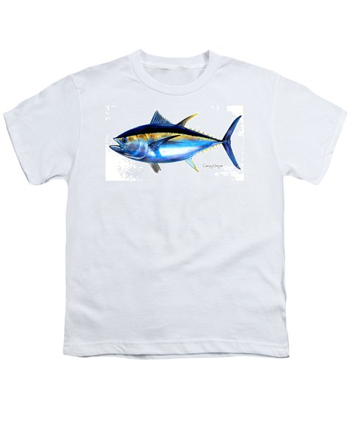 Big Eye Tuna Youth T-Shirt by Carey Chen