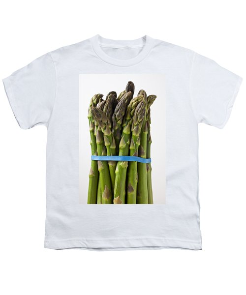 Bunch Of Asparagus  Youth T-Shirt by Garry Gay