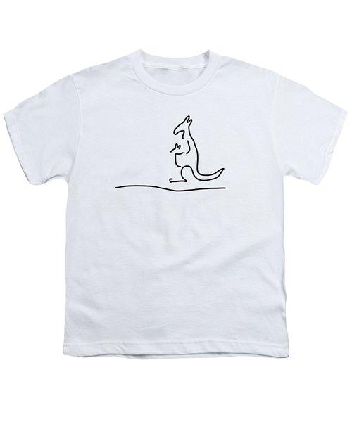 Cangarooh Kaenguru Bag Baby Youth T-Shirt by Lineamentum