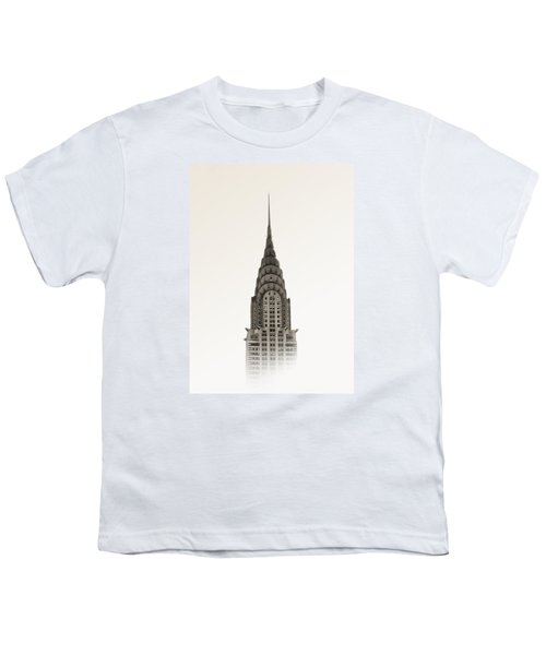 Chrysler Building - Nyc Youth T-Shirt by Nicklas Gustafsson