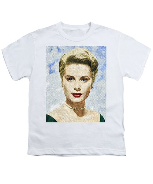 Grace Kelly Youth T-Shirt by Taylan Soyturk