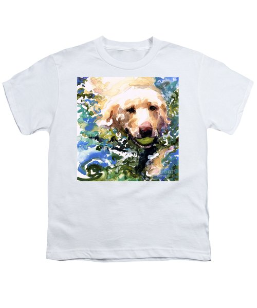 Head Above Water Youth T-Shirt by Molly Poole