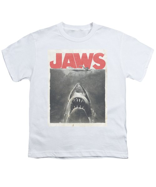 Jaws - Classic Fear Youth T-Shirt by Brand A
