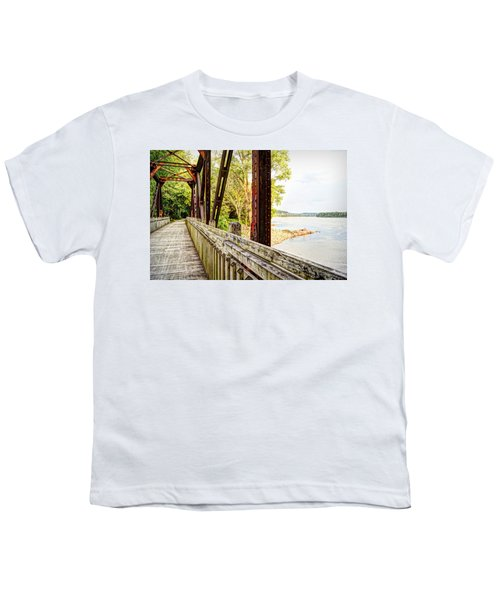 Katy Trail Near Coopers Landing Youth T-Shirt by Cricket Hackmann