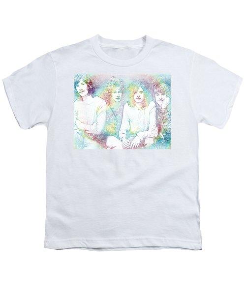 Led Zeppelin Tie Dye Youth T-Shirt by Dan Sproul