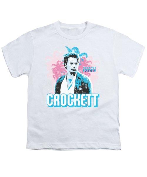 Miami Vice - Crockett Youth T-Shirt by Brand A