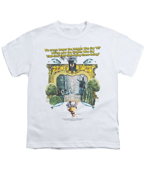 Monty Python - Knights Of Ni Youth T-Shirt by Brand A