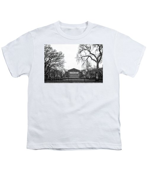 Northrop Auditorium At The University Of Minnesota Youth T-Shirt by Tom Gort
