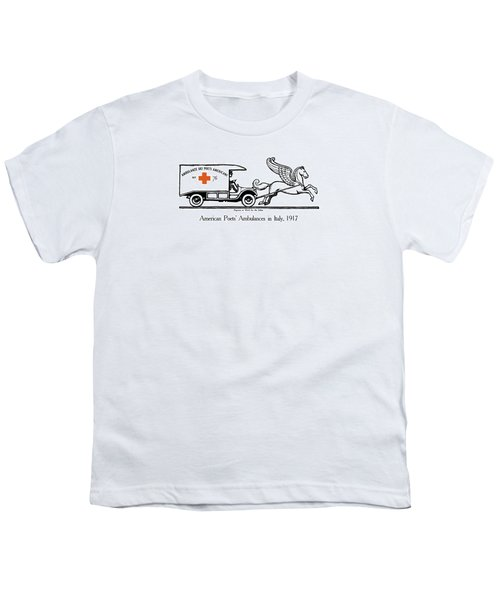 Pegasus At Work For The Allies Youth T-Shirt by War Is Hell Store