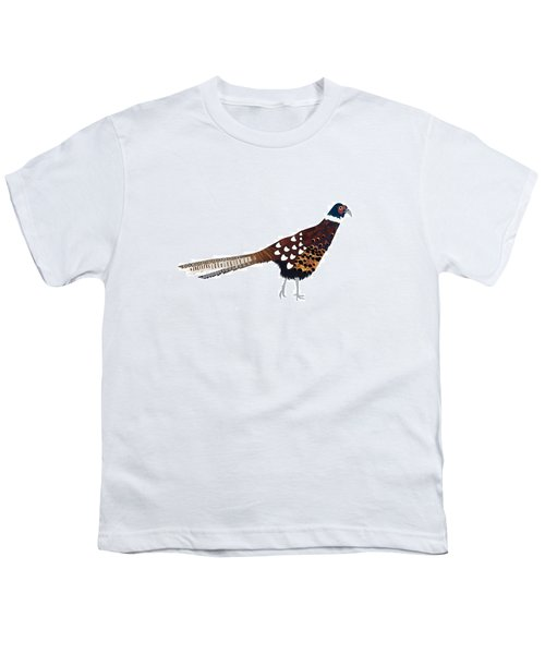 Pheasant Youth T-Shirt by Isobel Barber