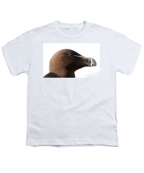 Razorbill Auk Youth T-Shirt by Jeannette Hunt
