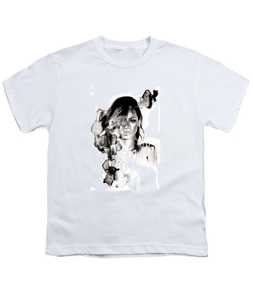 Rihanna Stay Youth T-Shirt by Molly Picklesimer