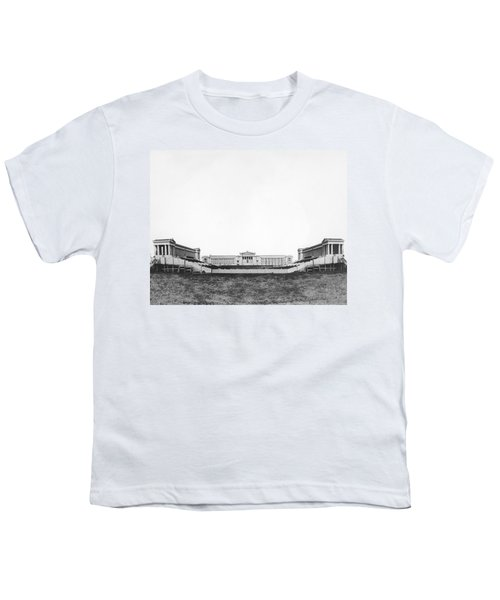 Soldiers' Field And Museum Youth T-Shirt by Underwood Archives