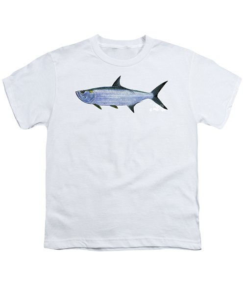Tarpon Youth T-Shirt by Carey Chen