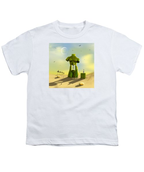 The Nightstand Youth T-Shirt by Mike McGlothlen
