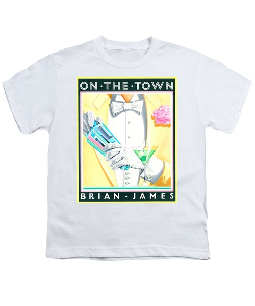 Untitled Youth T-Shirt by Brian James