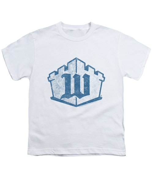 White Castle - Monogram Youth T-Shirt by Brand A