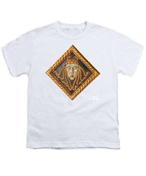 Medusa Youth T-Shirt by Photo Researchers