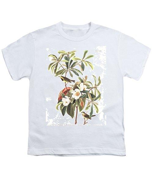 Bachman's Warbler  Youth T-Shirt by John James Audubon