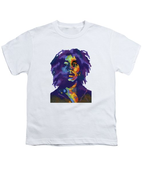 Bob Marley-for T-shirt Youth T-Shirt by Stephen Anderson
