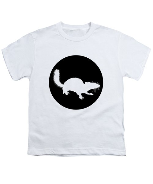 Squirrel Youth T-Shirt by Mordax Furittus