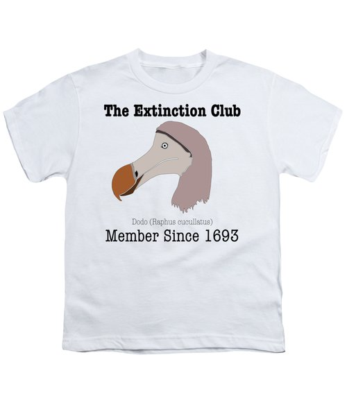 The Extinction Club - Dodo Youth T-Shirt by Marcus England